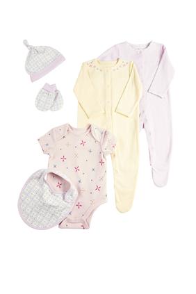 6 Piece Girls' Clothing Set