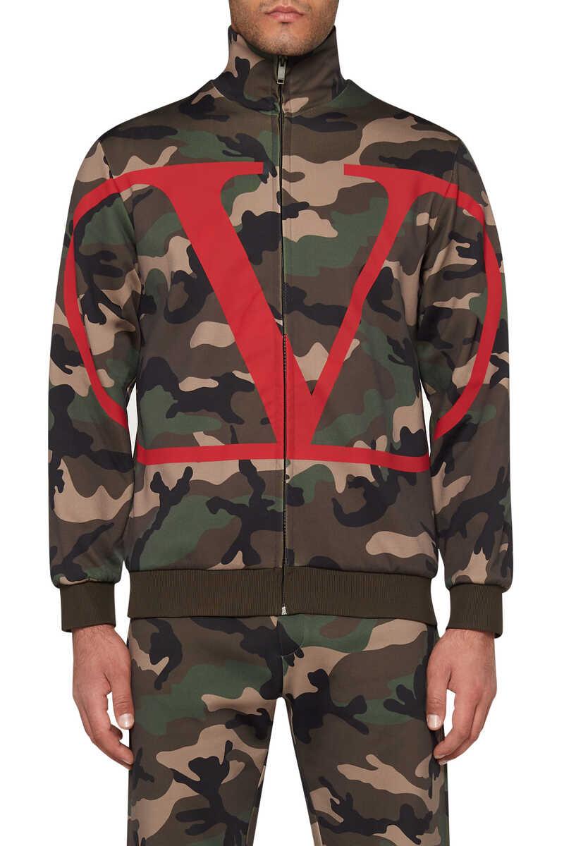 Logo Camouflage Sweatshirt image number 5
