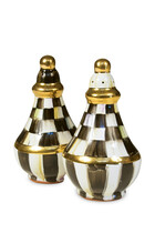 Courtly Check Salt And Pepper Shaker Set