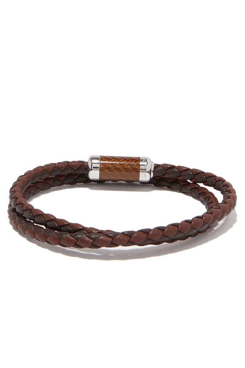 Montecarlo Carbon Leather Bracelet image number 2