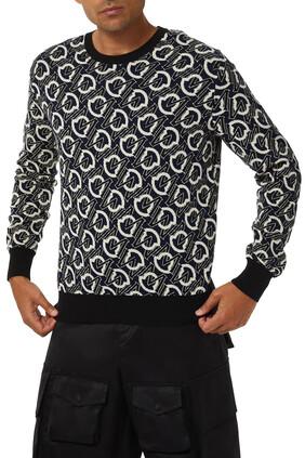 Logo Knitted Sweatshirt