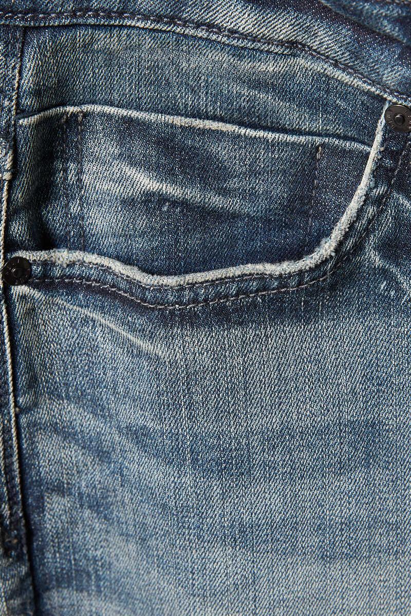 Jean Lou Slim Biker Jeans image number 4