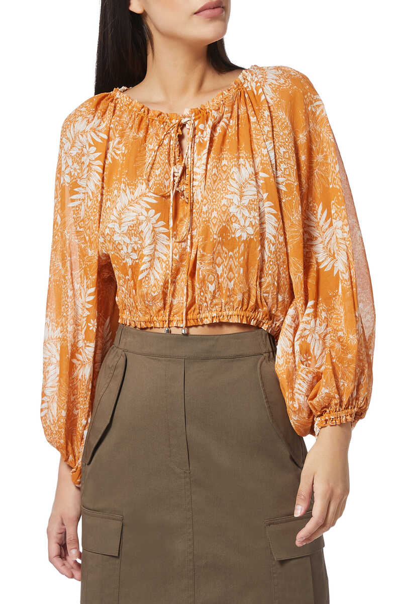Harmony Floral Print Blouse image number 1