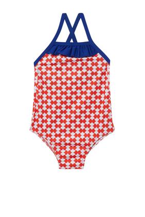 Java Red Woodstock One-Piece Swimsuit