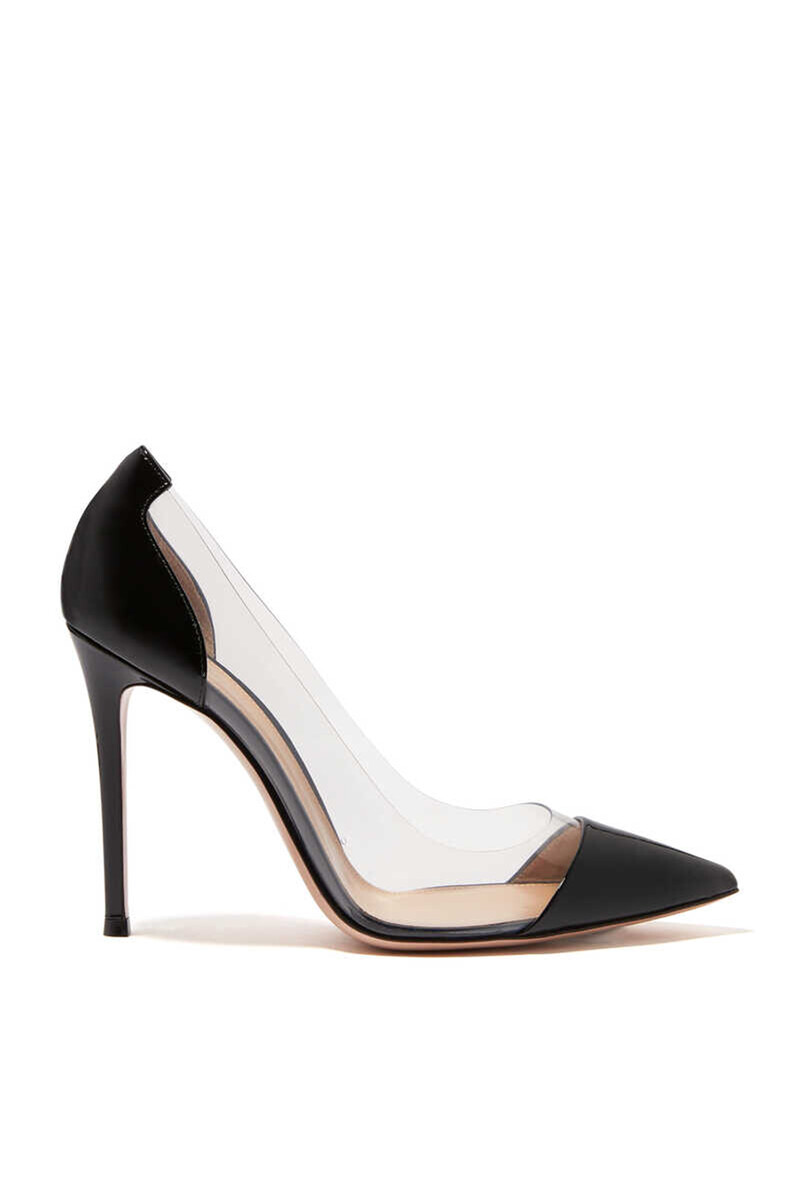Plexy And Patent Leather Pumps image thumbnail number 1