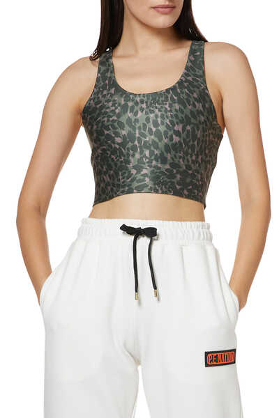 Ferocious Criss-Cross Crop Top