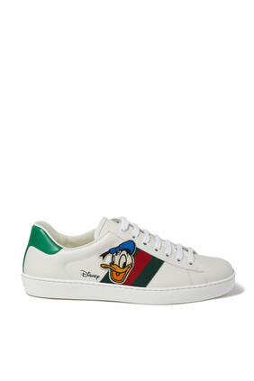 Disney x Gucci Donald Duck Ace Sneakers
