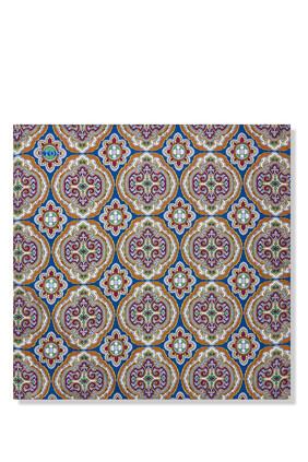 Pattern Silk Pocket Square