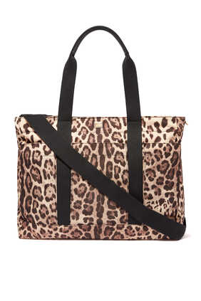 Leopard Print Changing Bag