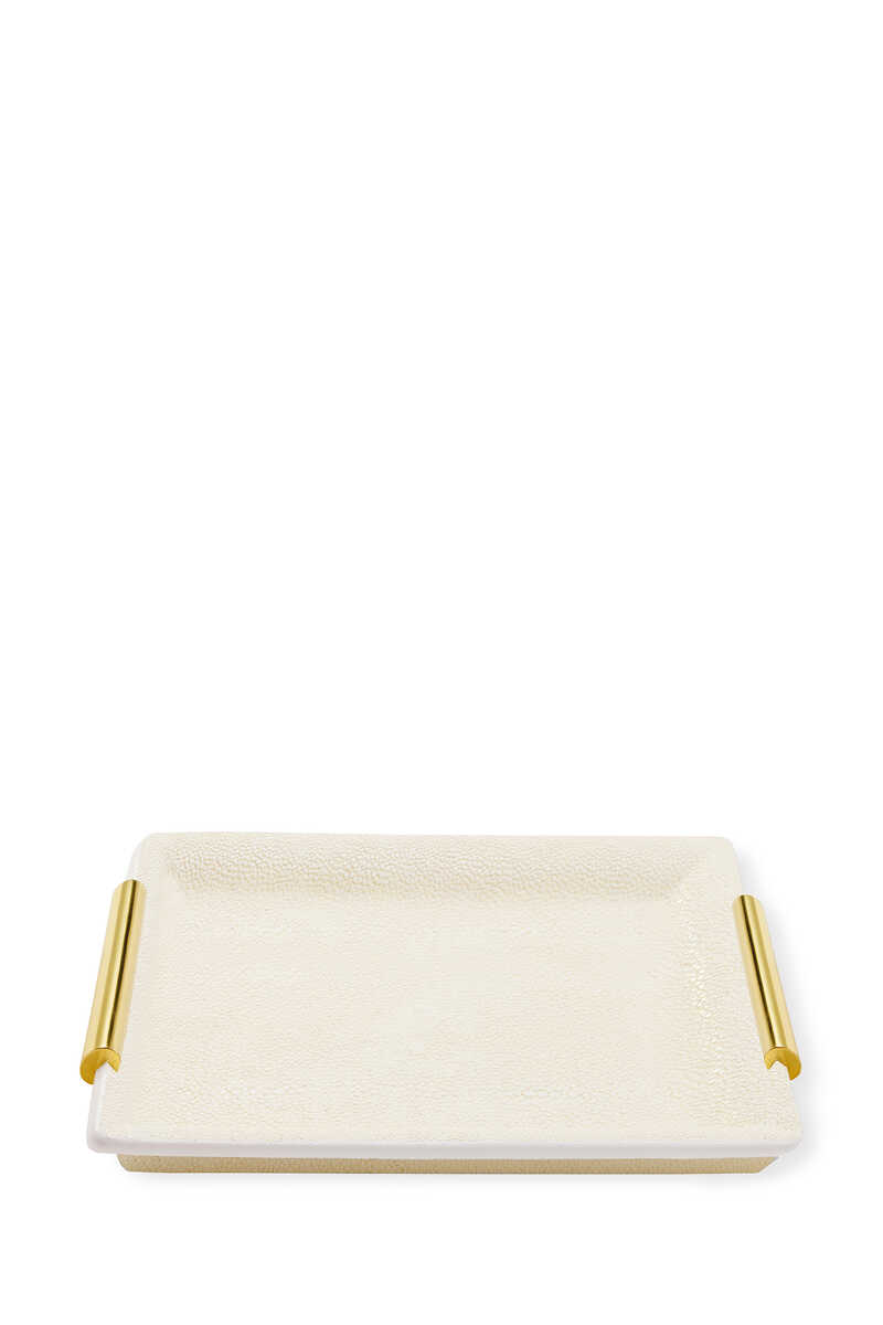 Shagreen Small Vanity Tray image number 1