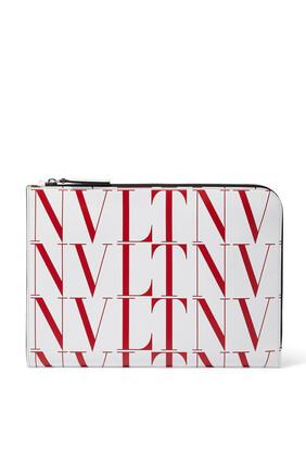 Valentino Garavani VLTN Times Leather Bag