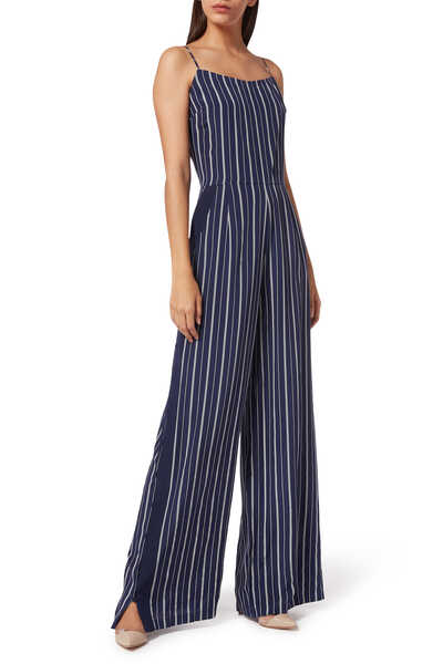 Finley Striped Jumpsuit