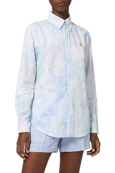 Tie-Dye Oxford Shirt