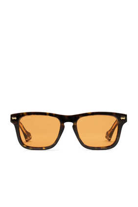 Rectangular Acetate Sunglasses