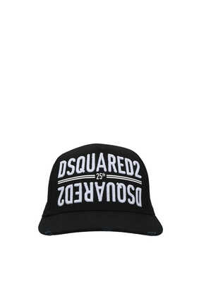 25th Embroidered Cotton Cap