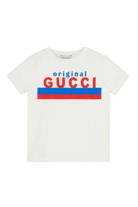 """Original Gucci"" Cotton T-Shirt"
