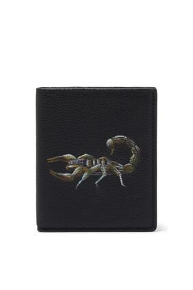 Warfield Scorpion Leather Wallet