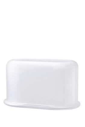 DJ Vase Nude Layers Large Opal White:White :One Size