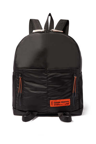 Round Zip Backpack