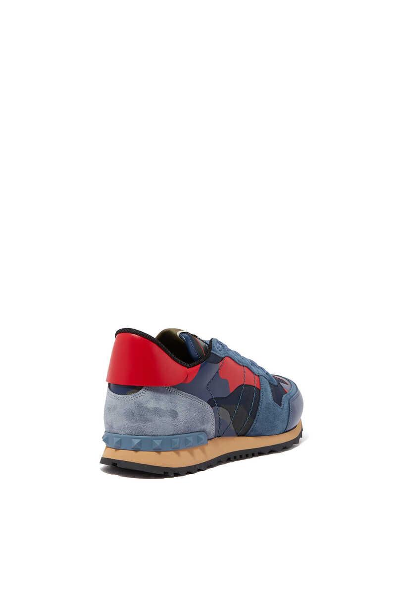 Valentino Garavani Camouflage Rockrunner Sneakers image number 2