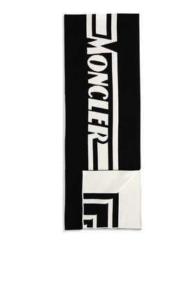 Logo Wool Scarf