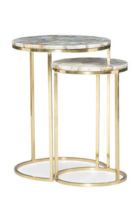Milky Way Table, Set of 2
