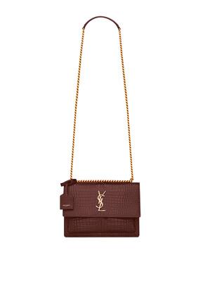 Sunset Medium Leather Bag