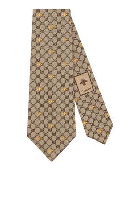 GG Bees Silk Tie