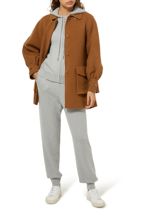 Cashmere Knit Sweat Pants