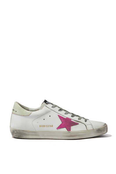 Pink Star Low Top Superstar Sneakers