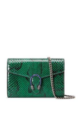 Dionysus Python Mini Chain Bag