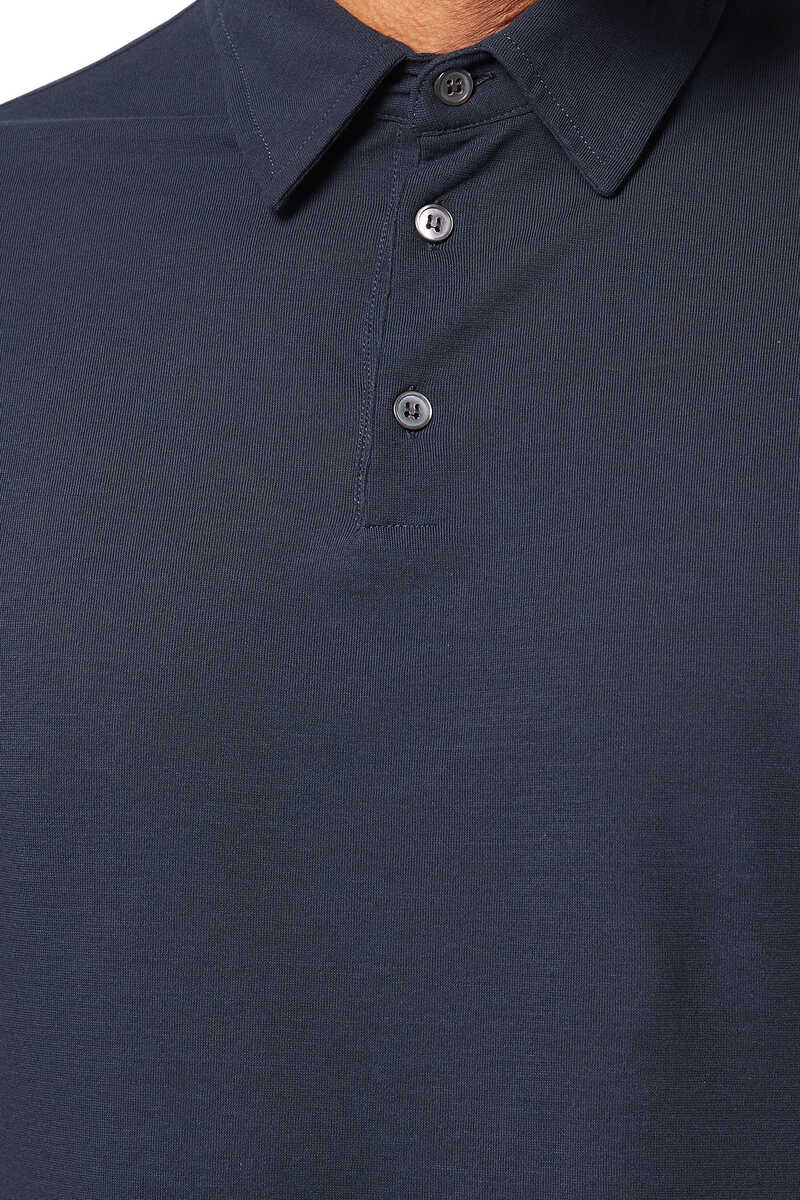 Ice Cotton Polo Shirt image number 4