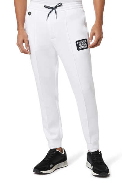 Milano Logo Patch Jogging Pants