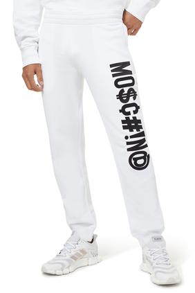 Symbols Logo Cotton Sweatpants