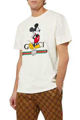 Disney And Gucci Oversized T-Shirt