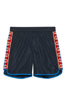 Interlocking GG Swim Shorts