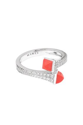 Cleo Diamond Statement Ring