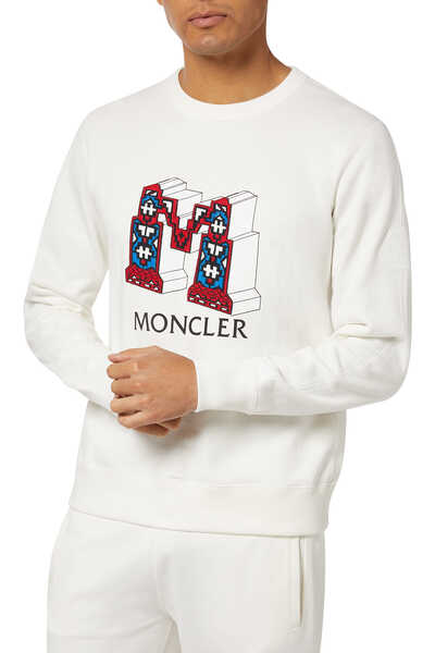 1952 Logo Print Pullover Sweater