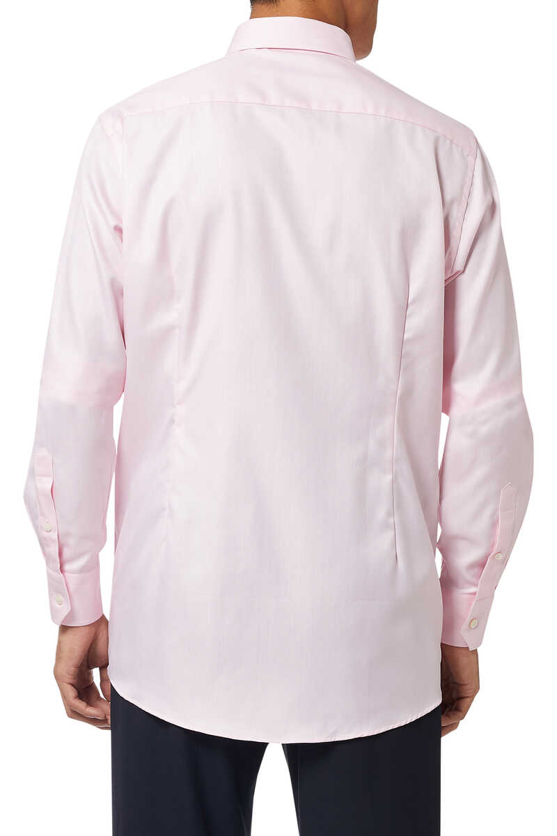 Herringbone Print Shirt image number 3