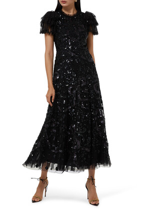 Shirley Sequin Embellished Gown