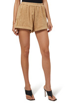 Estate Terry-Toweling Shorts