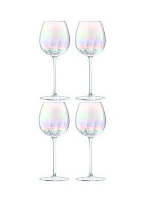 Pearl Glass Set of Four