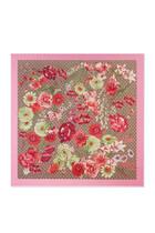 Silk Spring Bouquet Shawl