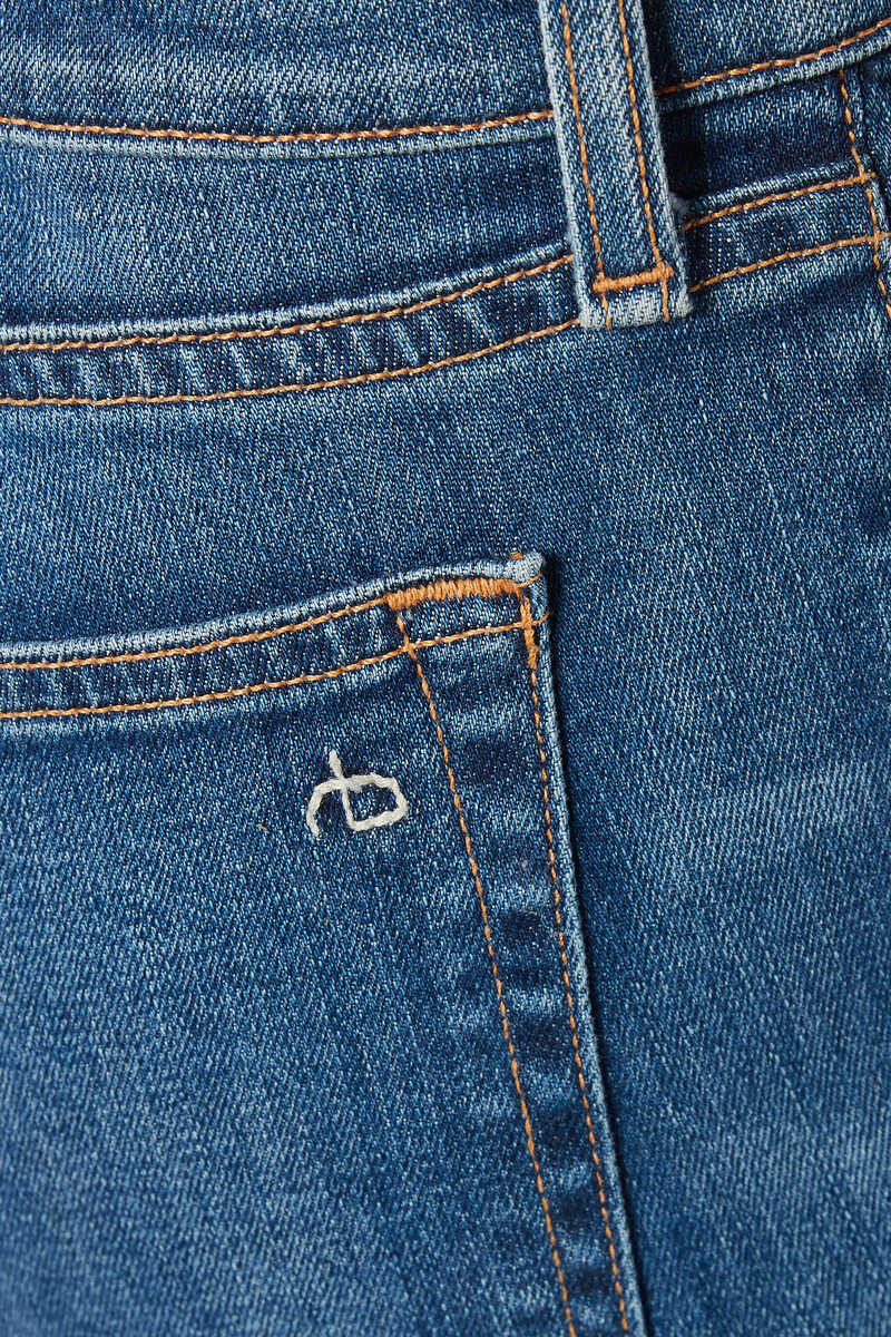 Dre Slim Cut Denim Jeans image number 4