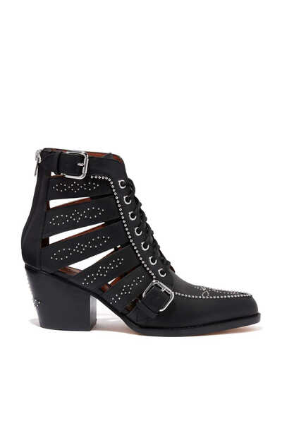 Paisley 65 Studded Leather Boots