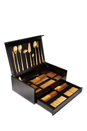 Duna 130 Piece Cutlery Set