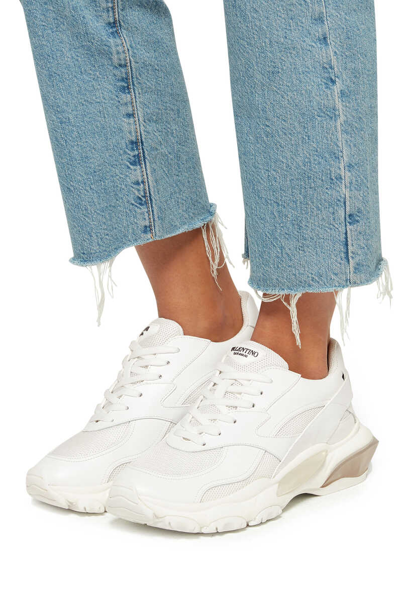 Valentino Garavani Bounce Chunky-Sole Sneakers image number 2