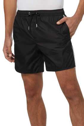 Race Logo Swim Shorts