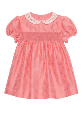 GG Cotton Jacquard Dress