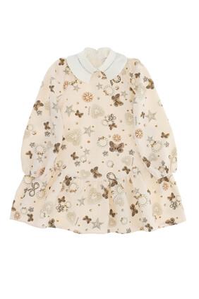 Jewel Print Dress
